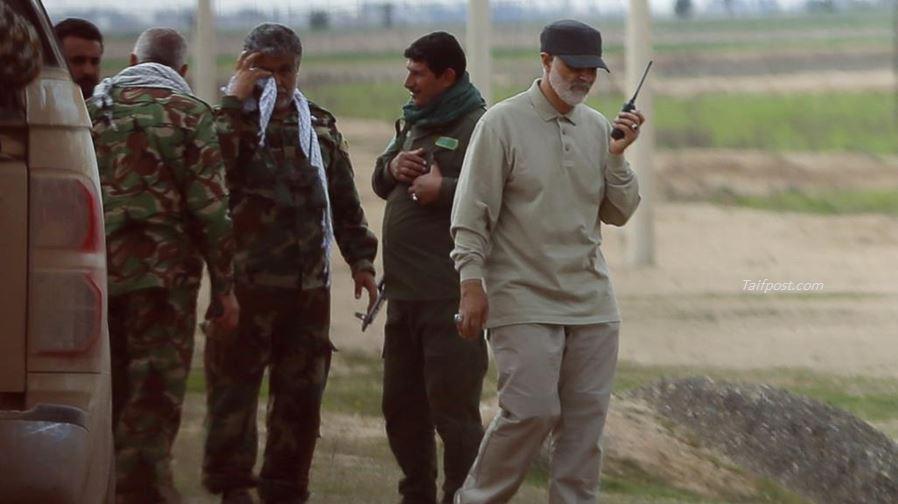 قاسم سليماني ودوره في مواجهة الثورة السورية