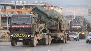 صورة بعد تحذيرها لنظام الأسد.. وزارة الدفاع التركية ترسل تعزيزات عسكرية جديدة إلى الحدود السورية
