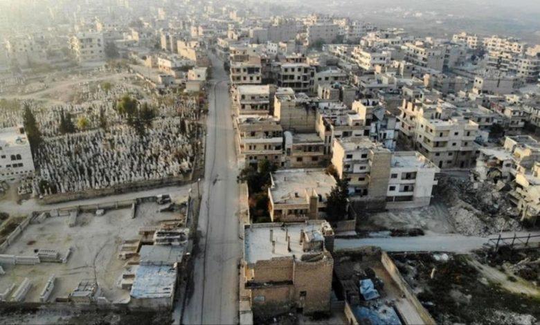 حرب شوارع داخل معرة النعمان