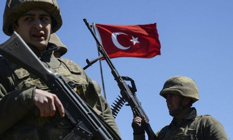 عملية أمنية جديدة للجيش التركي