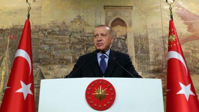 صورة أردوغان: لن نغادر سوريا.. وأبواب أوروبا ستبقى مفتوحة أمام حركة اللاجئين في المرحلة المقبلة