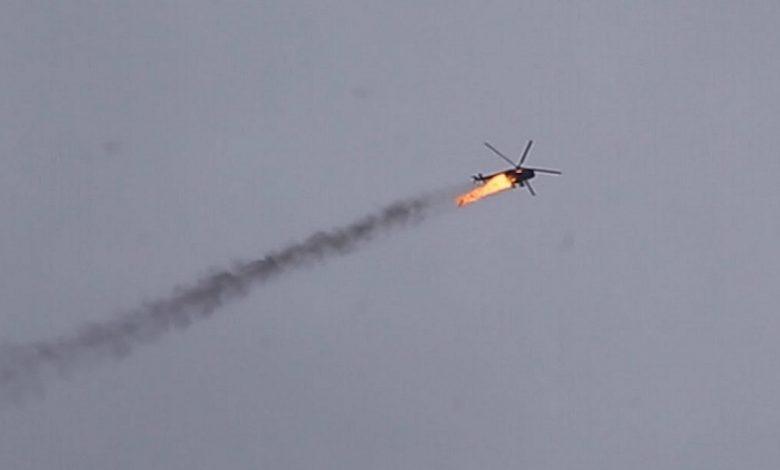 تعليق نظام الأسد على إسقاط المروحية
