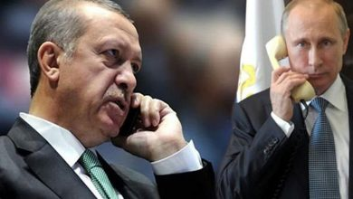 صورة اتصال هاتفي بين بوتين وأردوغان مساء اليوم سيحدد مصير إدلب!