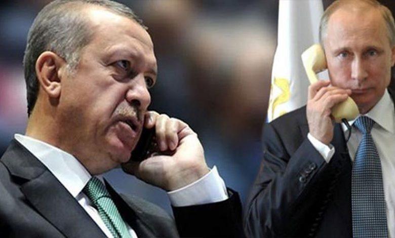 اتصال بوتين وأردوغان مصير إدلب