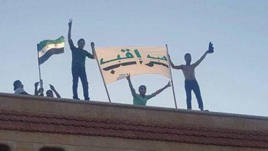 صورة المعارضة تترجم التهديدات التركية.. سراقب محررة بالكامل.. والطرقات الدولية مغلقة بوجه قوات نظام الأسد