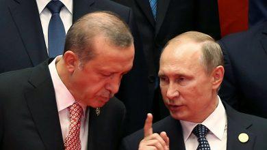 صورة بوتين يقترح حلاً على أردوغان بشأن إدلب والأخير يرفض.. وخسائر بالجملة لقوات الأسد شمال سوريا