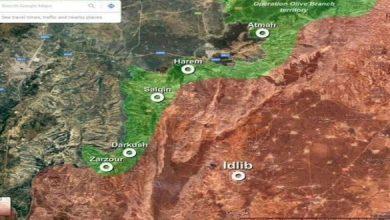 صورة عزل إدلب عن منطقة عفرين.. وحصر التواجد التركي قرب الشريط الحدودي.. هذا ما تسعى روسيا لتحقيقه في الأيام المقبلة