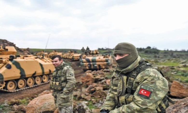 عملية عسكرية تركية ضد قوات نظام الأسد