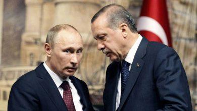 """صورة """"أردوغان"""" لـ """"بوتين"""": قوات الأسد لن تبقى في إدلب.. وسنعمل على تطهير محيط منطقة عملية """"درع الربيع"""""""