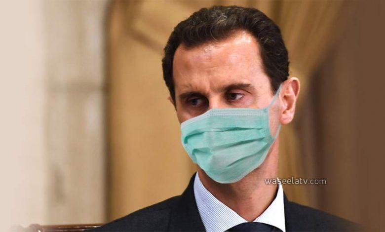 فيروس كورونا بشار الأسد