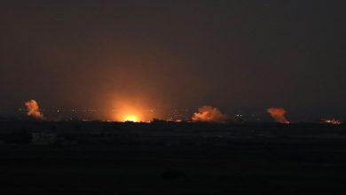 صورة المواجهات مستمرة داخل مدينة سراقب.. والمعارضة تسقط طائرة مسيرة إيرانية جنوب إدلب