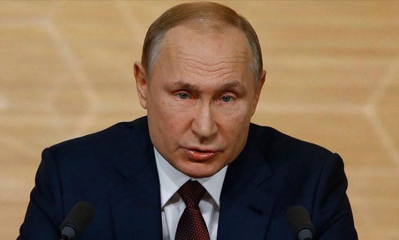 بوتين يعترف بخسائر قوات الأسد في إدلب