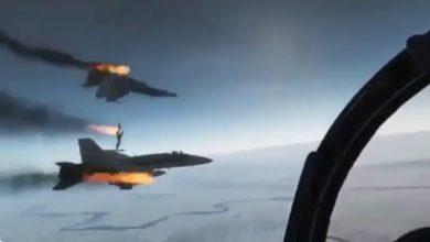 صورة تفاصيل سقوط طائرتين حربيتين روسيتين أثناء إجراء طلعات تدريبية