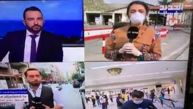 Photo of سقوط مراسلة قناة الجديد أثناء البث المباشر بعد ارتفاع درجة حرارتها بشكل مفاجئ (فيديو)