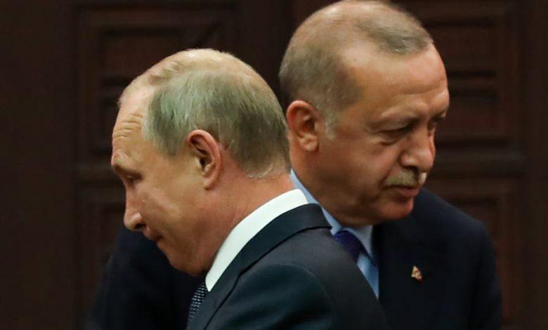 خلافات بين أردوغان وبوتين بشأن إدلب