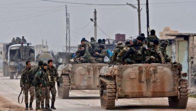"""صورة قوات الأسد تحاول التقدم جنوب إدلب.. واستهداف رتل تركي على الطريق الدولي """"M4"""""""