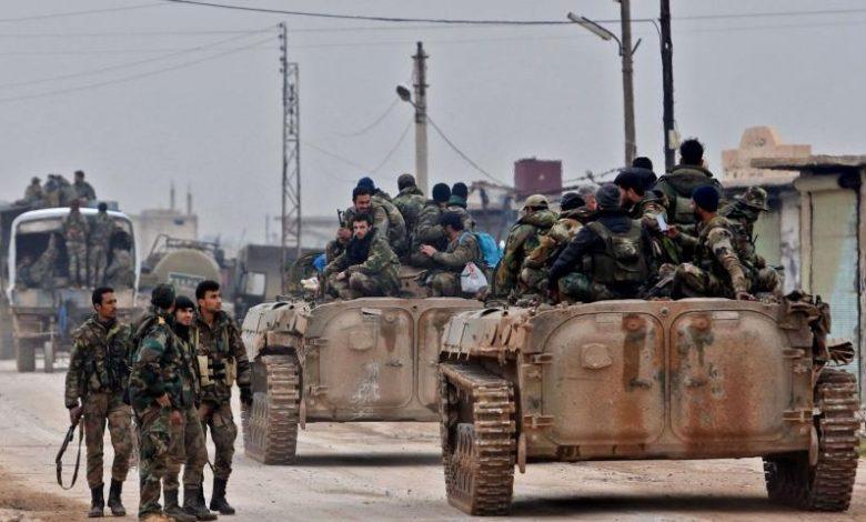 قوات الأسد تحاول التقدم جنوب إدلب