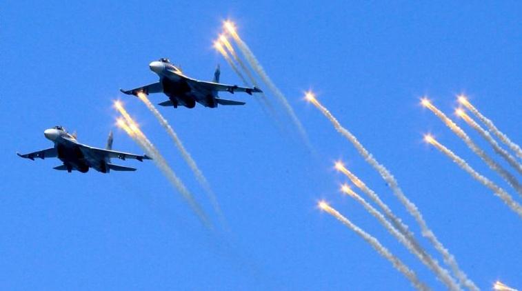 معركة في سماء إدلب