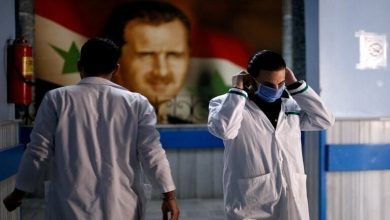 صورة ممثلة سورية موالية لنظام الأسد تكشف أنها مصابة بفيروس كورونا