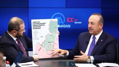 """صورة وزير الخارجية التركي يتحدث عن بنود اتفاق إدلب.. وهذا ما قاله بشأن فيديو """"انتظار أردوغان"""""""