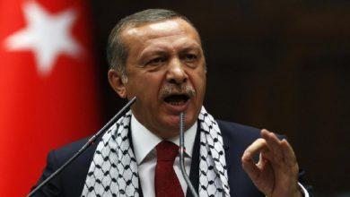 صورة أردوغان يضع شرطاً قبل إرسال شحنة مساعدات طبية إلى إسرائيل!