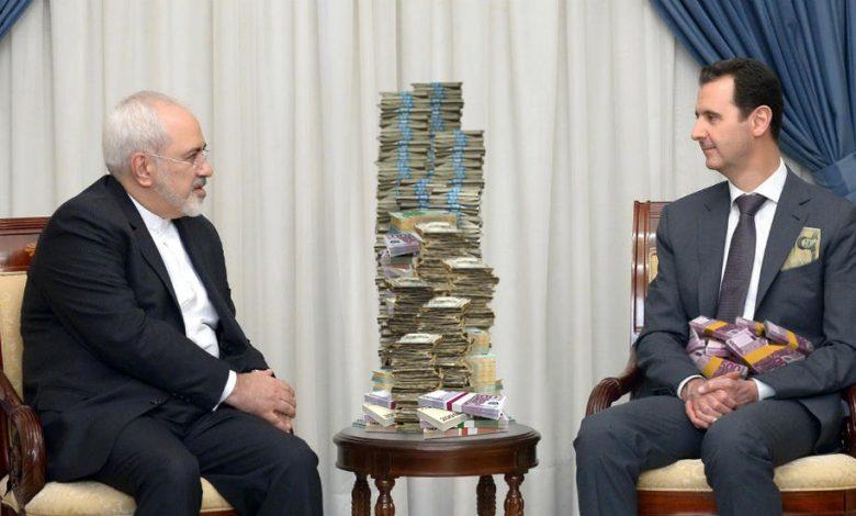 صورة معدلة بشار الأسد جواد ظريف