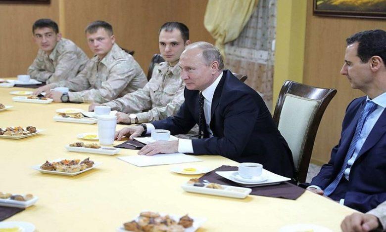 روسيا مستعدة لإزاحة الأسد عن السلطة