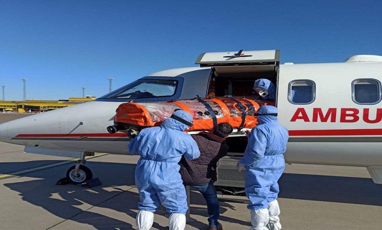 بطائرة إسعاف خاصة تركيا تجلي أحد مواطنيها من السويد