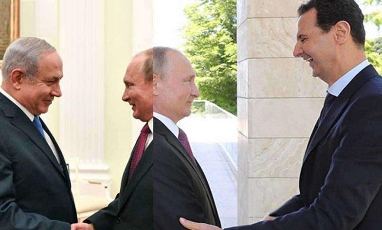 حملة الإعلام الروسي على بشار الأسد