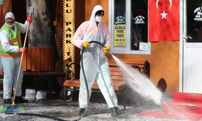 متى ذروة انتشار فيروس كورونا في تركيا