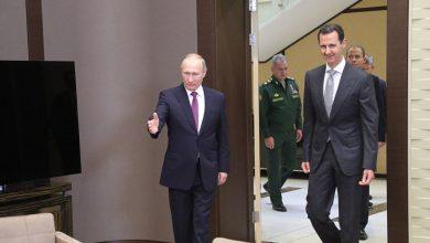 """صورة هل فتح """"بوتين"""" الباب أمام رحيل """"بشار الأسد""""..؟"""