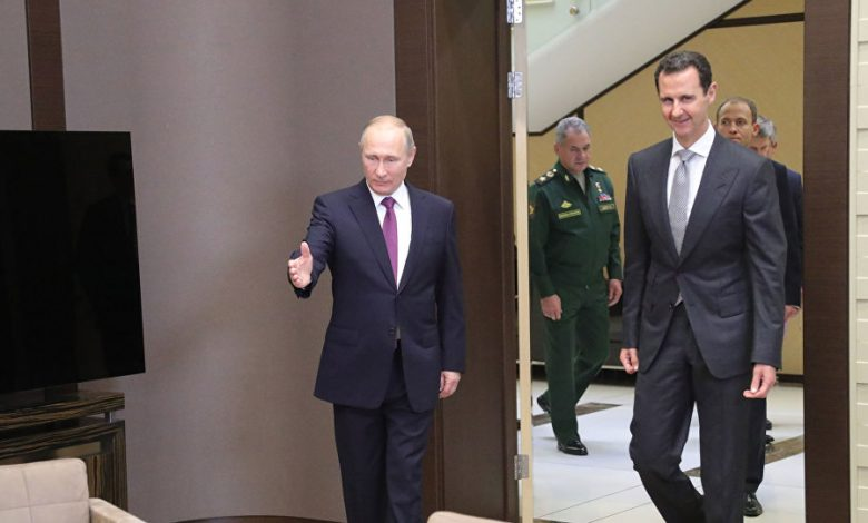 هل فتح بوتين الباب أمام رحيل بشار الأسد