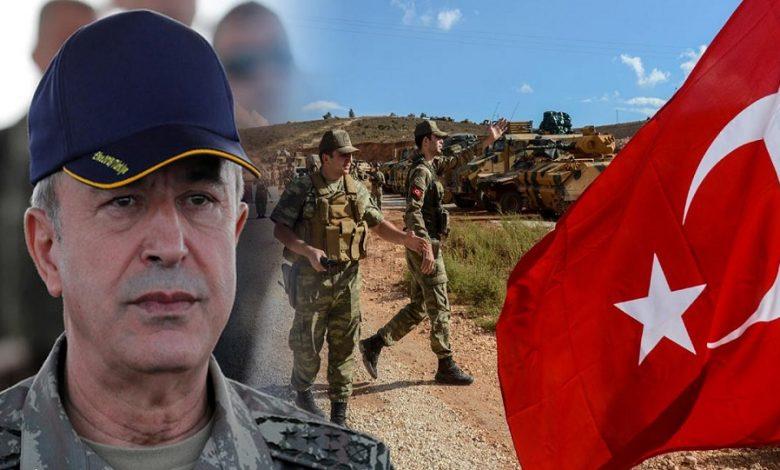 آكار يتحدث عن أهداف تركيا في سوريا
