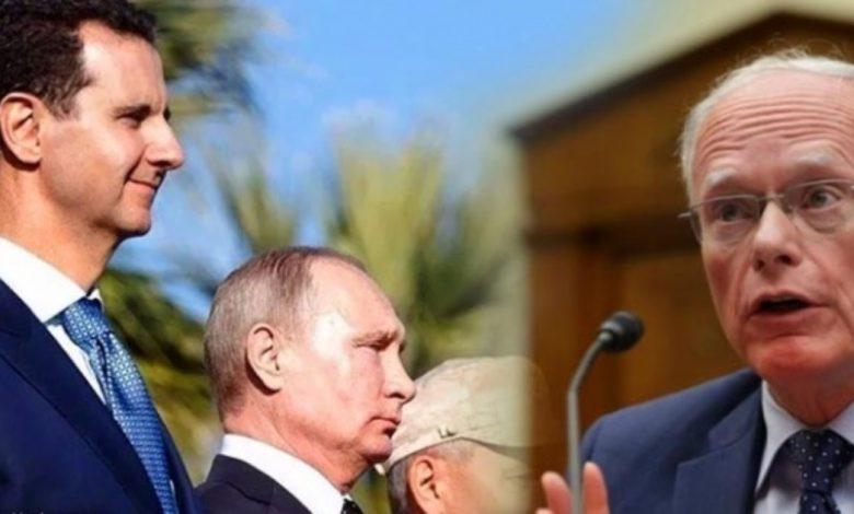 أمريكا روسيا حل سياسي في سوريا