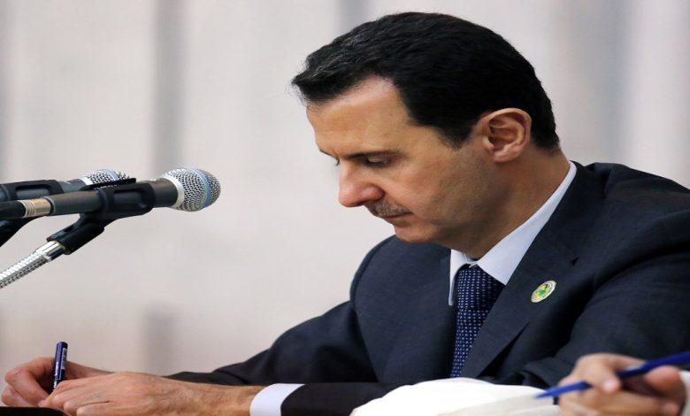 بشار الأسد في آخر أيامه