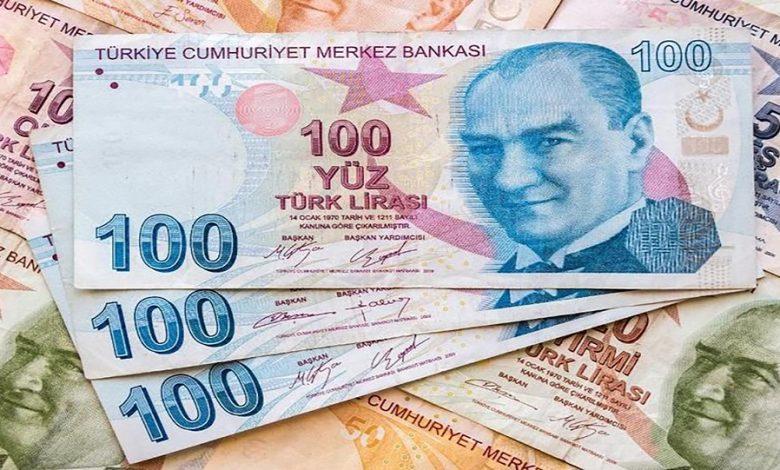 الليرة التركية تصل إلى أقوى مستوى لها منذ منتصف شهر أبريل