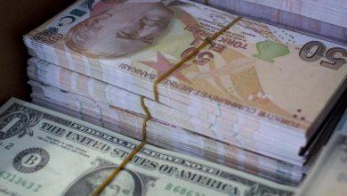 صورة الليرة التركية تنخفض إلى مستوى قياسي جديد مقابل الدولار