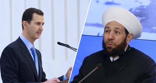 بشار الأسد لم يتلقى رسائل تهنئة