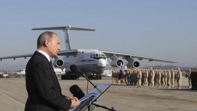 صورة بعد قاعدة حميميم.. روسيا تضع يدها على مطار القامشلي لمدة 49 عاماً.. وعتاد عسكري روسي في طريقه إلى سوريا