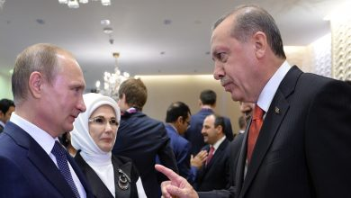 """صورة """"بوتين"""" و""""أردوغان"""" يبحثان الملف السوري والأوضاع في إدلب.. وإيران تعلق على أنباء انسحاب قواتها من سوريا"""