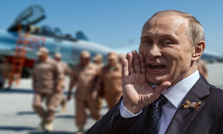 بوتين يصدر مرسوم رئاسي بشأن سوريا