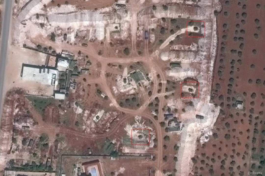 تركيا تنشر منظومة دفاع جوي قرب إدلب
