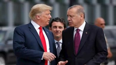 """صورة """"ترمب"""" و""""أردوغان"""" يبحثان ملف الحل السياسي في سوريا.. والرئاسة التركية: بشار الأسد لا يمكن أن يكون زعيماً"""
