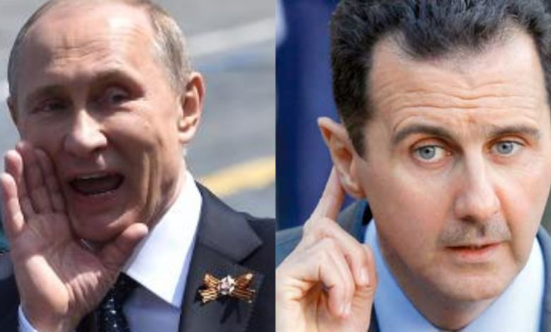 بوتين مستعد للتخلي عن بشار الأسد