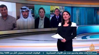 """صورة خطأ طريف.. شاهد غادة عويس تحول """"خليفة حفتر"""" إلى مراسل لقناة الجزيرة (فيديو)"""