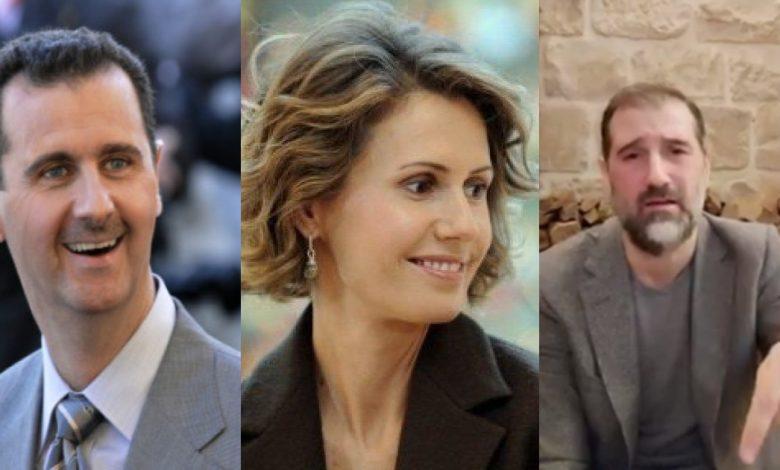 رامي مخلوف يناشد بشار الأسد