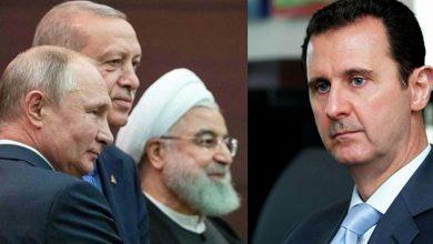 Photo of روسيا وتركيا وإيران.. حل الملف السوري مرتبط بإزالة بشار الأسد..!