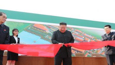 """صورة شاهد بالفيديو.. أول ظهور علني لزعيم كوريا الشمالية """"كيم جونغ أون"""""""