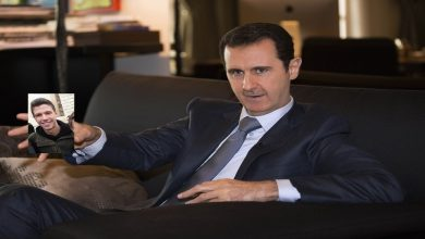 """صورة صاندي تايمز تكشف عن خطة بشار الأسد لتوريث ابنه """"حافظ"""" الحكم في سوريا"""
