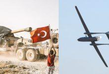 Photo of طائرة مسيرة روسية تستهـ.ـدف مواقع في جبل الزاوية.. وتركيا ترسل مدافع ثقيلة إلى إدلب